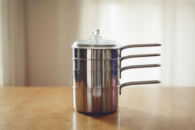 石黒智子のシンプルな台所道具「重ね鍋5点セット」が超絶便利