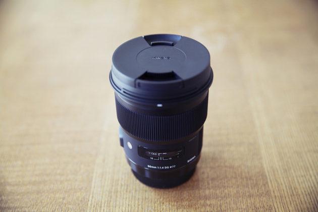 [レビュー]SIGMAの単焦点レンズ Art 50mm F1.4 DG HSMを買った、の巻