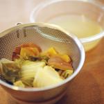 ベジブロス(野菜くずだし)の作り方