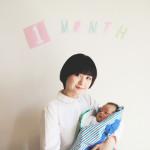 赤ちゃん生誕1ヶ月記念の撮影会をしました!
