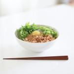 マルちゃん生麺といなばの鶏そぼろバジルで名古屋風台湾まぜそばを作ってみた!