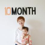 赤ちゃん生誕10ヶ月記念の撮影会をしました!