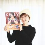 月刊KELLy3月号「私と、スイーツ。」でオニマガ代表の奥様がおすすめパティスリーを紹介しています!