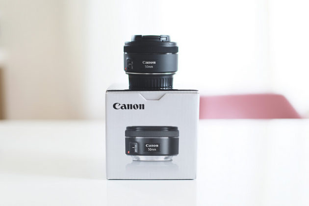 [レビュー]Canonの単焦点レンズEF50mm F1.8 STMを買った、の巻