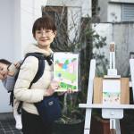 イラストレーター松尾麗子さんの個展「ていねいに生きる」@C7Cを見に行ってきました!