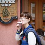 名古屋・東区泉散歩「親子でコーヒーとパンと公園編(洋食チャールズ・イトウコーヒー・ティーパーティー・ショコラトリータカス)」