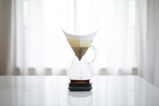 ケメックス(CHEMEX)のコーヒーメーカーを導入しました!(淹れ方レシピ・使い方)