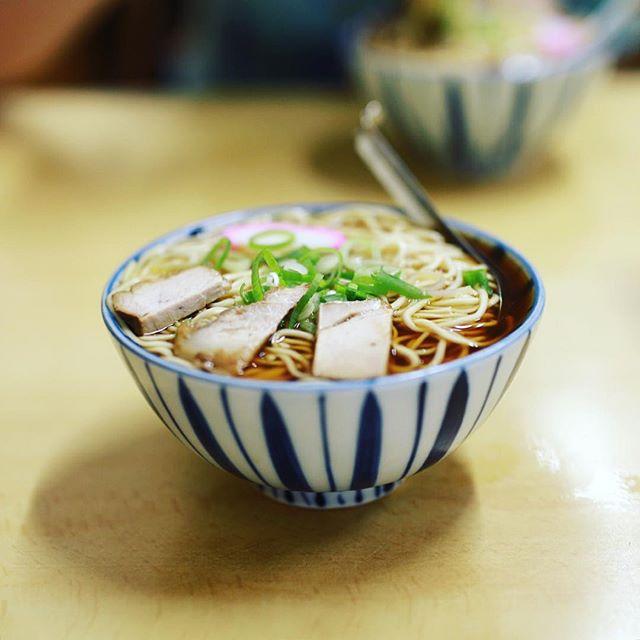 岐阜のまるデブ総本店に中華そば食べに来たよ。15年ぶりくらいに来たー。うまい! (Instagram)
