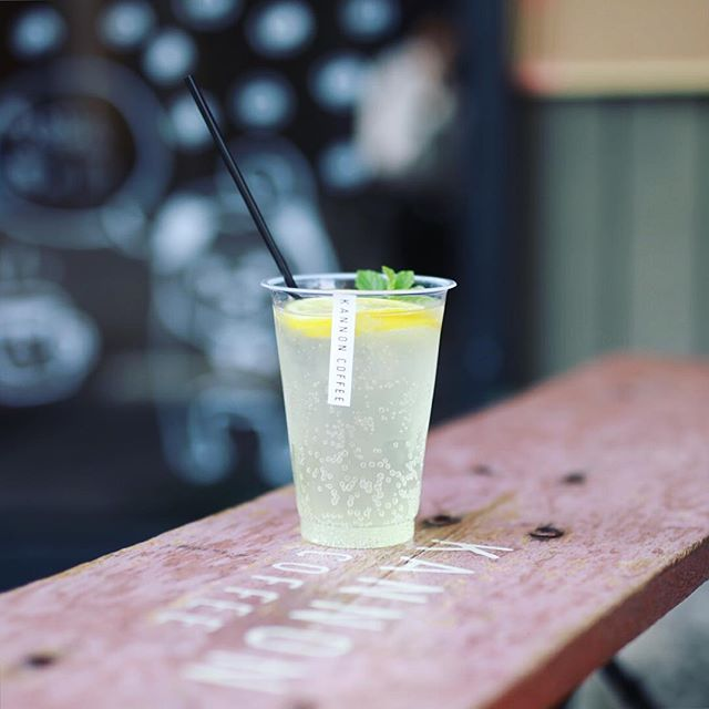 KANNON COFFEEでジュース休憩。国産レモンのレモネード。うまい!#オニマガ名古屋散歩・#カンノンコーヒー #大須 (Instagram)