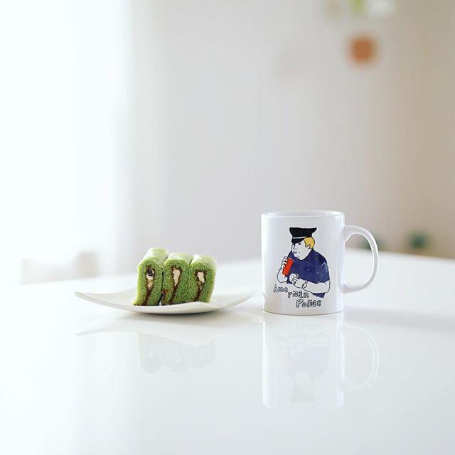 グッドモーニングコーヒー&伊藤軒の抹茶あずきオムレット。うまい! (Instagram)
