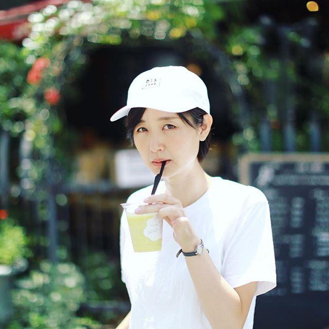 イズイットスープでスイートバジルとパイナップルのグラニテジュース。うまい!#オニマガ名古屋散歩・#isitsoup #nagoya #parco #名古屋パルコ (Instagram)