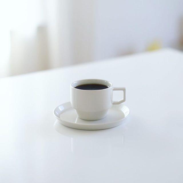グッドモーニングコーヒー。TRUNK COFFEEのRwanda COKO。うまい! (Instagram)
