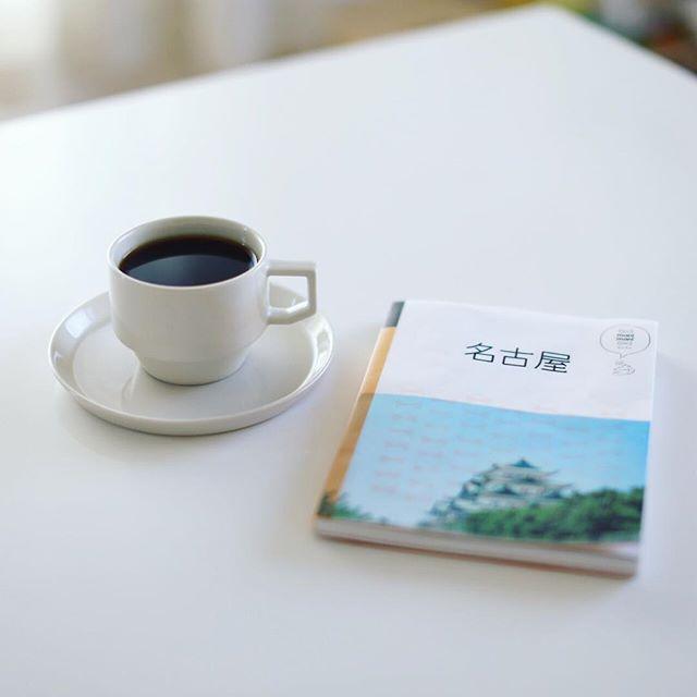 グッドモーニングコーヒー。今日は涼しいなぁ。うまい!そういえば先週発売になった名古屋のガイド本マニマニ名古屋でオニマガ的オススメをなんやかんや書きましたよ。週末のお出かけにどうぞー。 (Instagram)