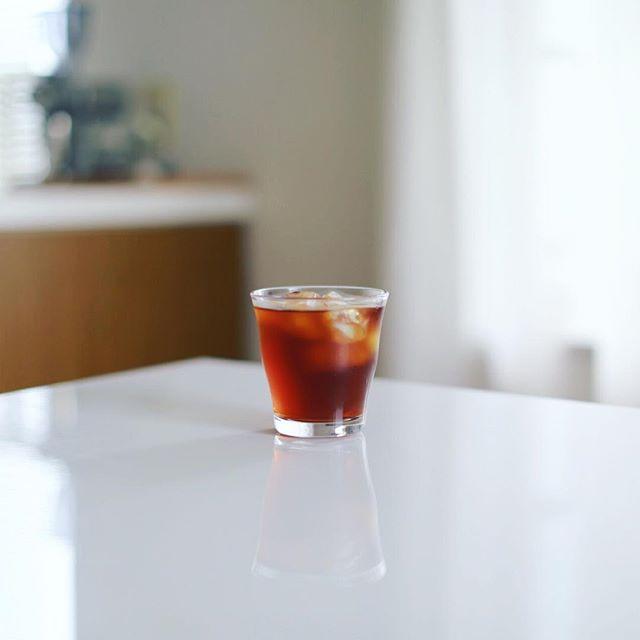 グッドモーニング水出しコーヒー。うまい! (Instagram)