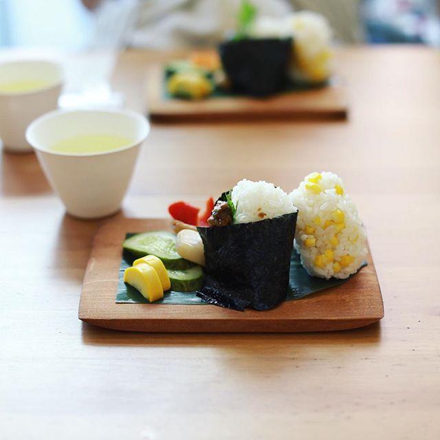 Mondとおにぎりやさんの朝ごはん会でグッドモーニングおにぎり。うまい!#オニマガ名古屋散歩 (Instagram)