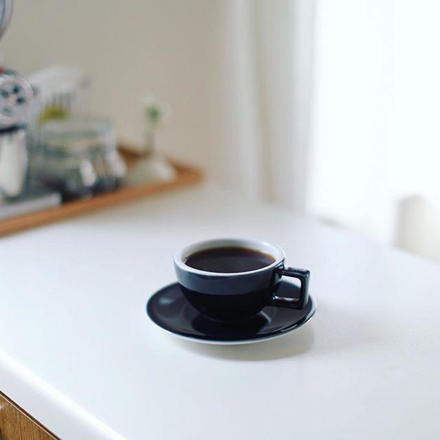 グッドモーニングコーヒー。今週は #カッピングルーム のパナマ ラ・ミラグロッサ ゲイシャ。うまい!・#bontaincoffee #cuppingroom #bontain (Instagram)