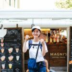 名古屋駅近くの移動カフェ「MAGNI'S COFFEE TRUCK」へコーヒー飲みに行ってきました!