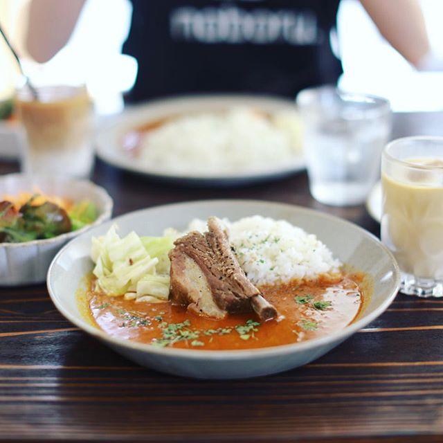 豊田のCONTENTS nishimachiに遊びに来たよ。スープとカレーのカフェLittle Cockooでニシマチスープカレーランチ。うまい!・#コンテンツニシマチ #contentsnishimachi #littlecockoo (Instagram)
