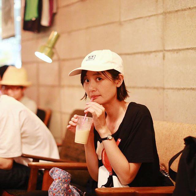 TRUNK COFFEEの2周年パーティーに遊びに来たよ。アイスラテ休憩。うまい!#オニマガ名古屋散歩 (Instagram)