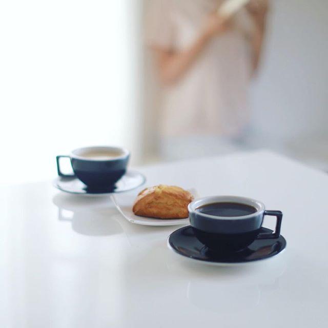 グッドモーニングコーヒー&レキップドコガネイのスコーン。うまい! (Instagram)