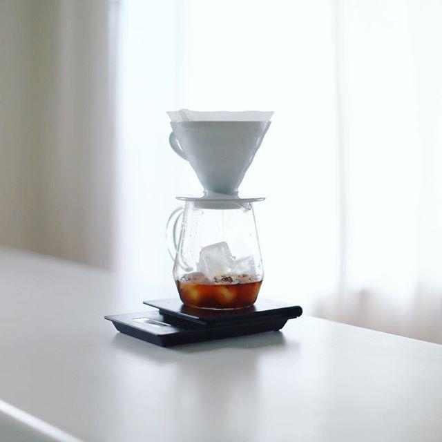 グッドモーニングアイスコーヒー。うまい! (Instagram)