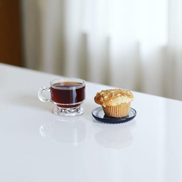 PINE FIELDS MARKETのマフィンでグッドモーニングコーヒー。うまい!#パインフィールズマーケット #pinefieldsmarket (Instagram)