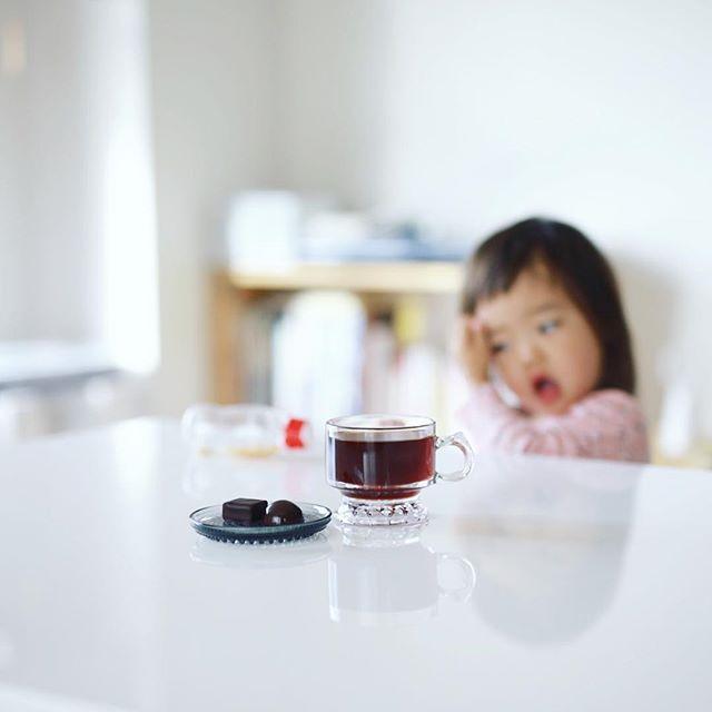 #chocolaterietakasu #ショコラトリータカス のチョコレートをお土産にもらったー!グッドモーニングコーヒー。うまい! (Instagram)