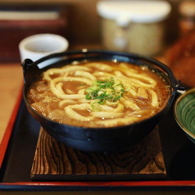 大須の讃岐麺処か川へカレー鍋焼きうどん食べに来たよ。うまい!#オニマガ名古屋散歩 (Instagram)