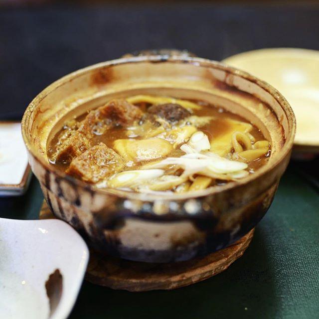大須の一八本店に味噌煮込みうどん食べに来たよ。うまい!#オニマガ名古屋散歩 (Instagram)