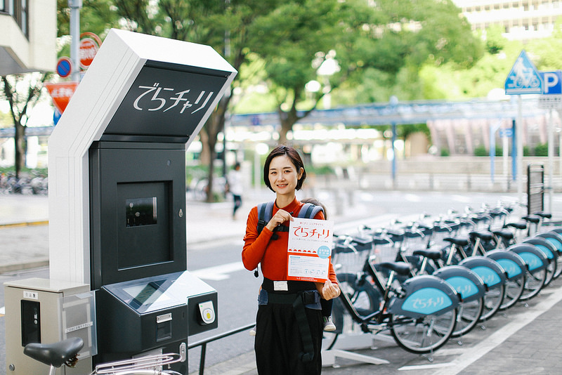 名古屋・栄ミナミのレンタサイクル「でらチャリ」で名古屋の街をサイクリングしてみました!