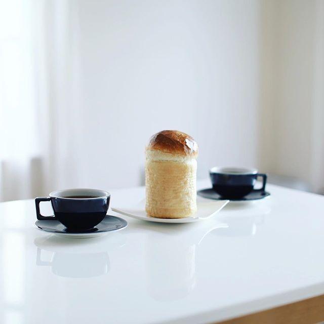 ブランパンのマルミットでグッドモーニングコーヒー。うまい! (Instagram)