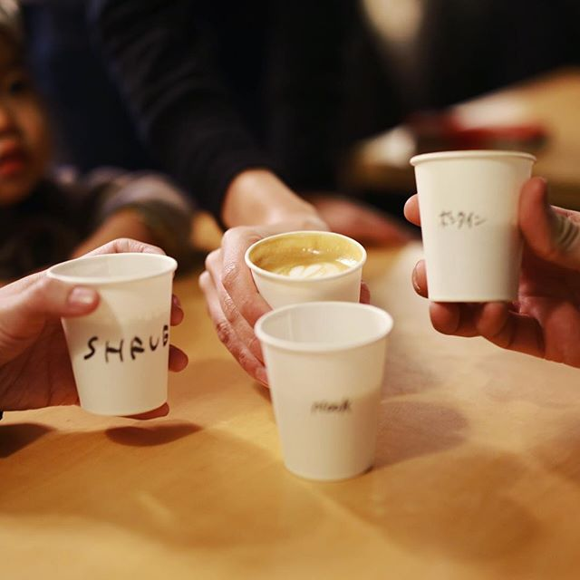 ナゴヤコーヒースタンドatヌーク&クラニー会場にやって来たよ。いろんなお店のコーヒー飲み比べ。うまい!#オニマガ名古屋散歩 (Instagram)