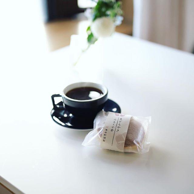 養老軒の生どらやき みるく小倉でグッドモーニングコーヒー。川辺町のお土産。うまい!-#スキカモ (Instagram)