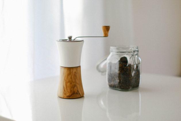 HARIO(ハリオ)のセラミックコーヒーミル・ウッドを買いました!