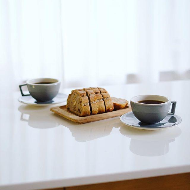 #ブランパン のセーグルオフリュイでグッドモーニングコーヒー。うまい! (Instagram)