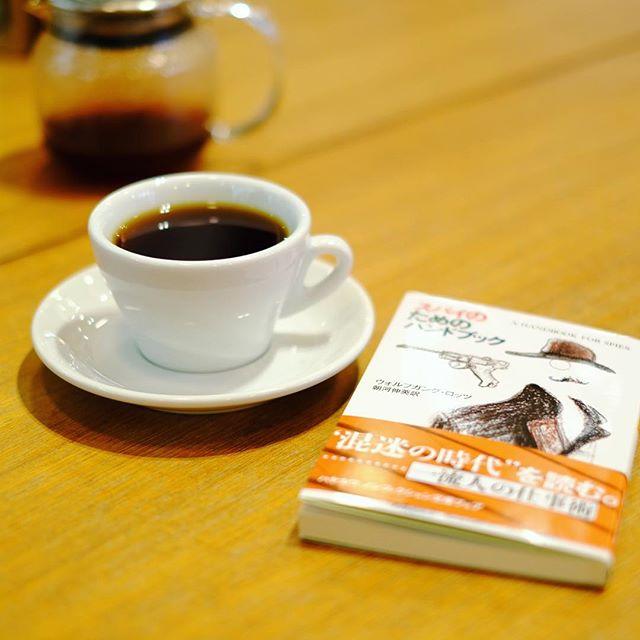 赤ちゃんが寝たのでノルディックスタイルカフェでコーヒー&読書タイム。うまい!#オニマガ名古屋散歩 (Instagram)
