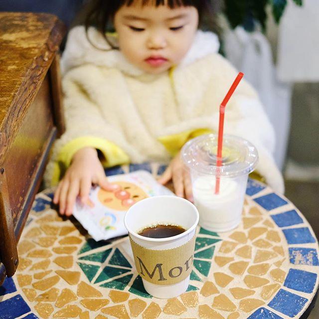 鶴舞のMondに野菜を買いに来てコーヒー休憩な金曜日の夕方。うまい!#オニマガ名古屋散歩 (Instagram)