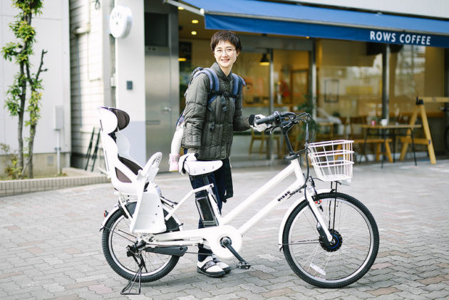 ブリヂストンの子乗せ電動自転車「bikkeGRI(ビッケ グリ)」を買いました!