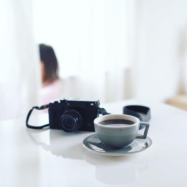 グッドモーニングコーヒー。今日はPICマガジン名古屋写真部。昼から晴れるかなー。うまい! (Instagram)