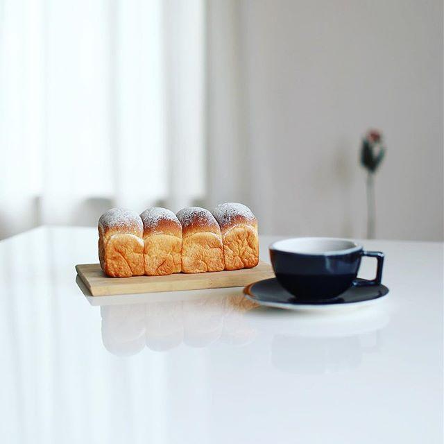PAFF LABOの米粉の食パンでグッドモーニングコーヒー。うまい! (Instagram)