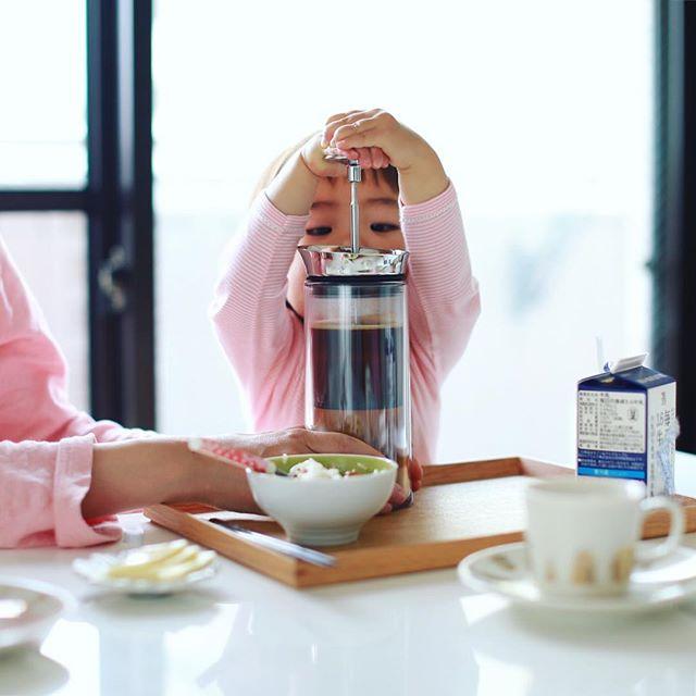 グッドモーニングコーヒー。やりたがりさん。うまい! (Instagram)