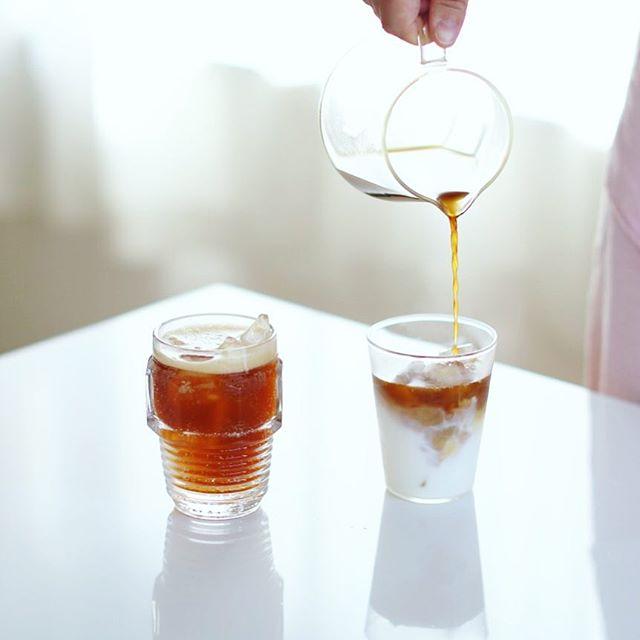 グッドモーニング #コーヒーソーダ &コーヒー牛乳。うまい! (Instagram)