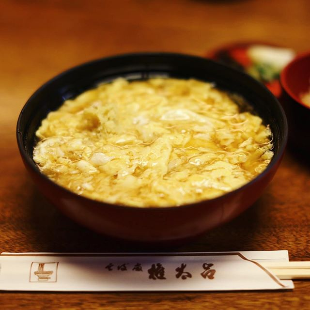 夜ごはんは権太呂のけいらんうどん&季節ご飯&野菜の炊合わせ。うまい!#オニマガ京都散歩 (Instagram)