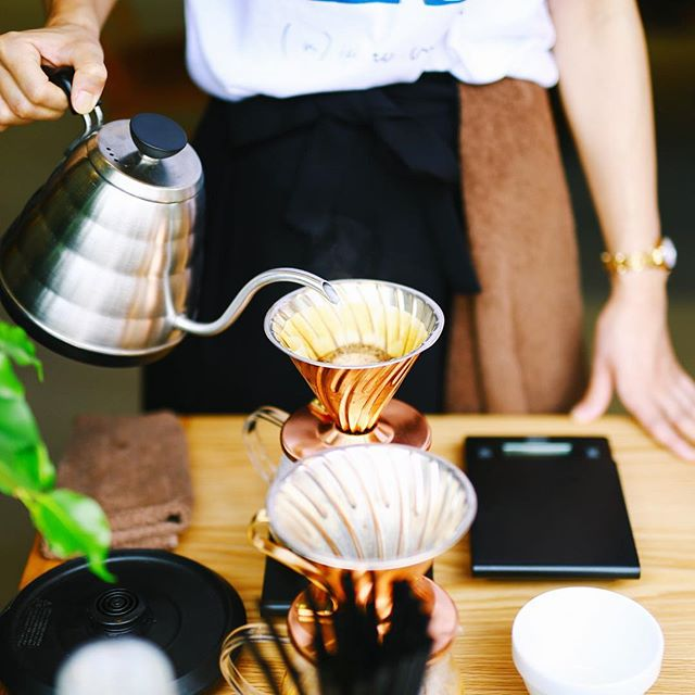 大須のHAIR ICI LUCEでやってるSIENA COFFEE FACTORYの出張コーヒースタンドでコーヒー休憩。今日は大須夏まつりだよ。うまい!#オニマガ名古屋散歩-#sienacoffeefactory #hairiciluce (Instagram)