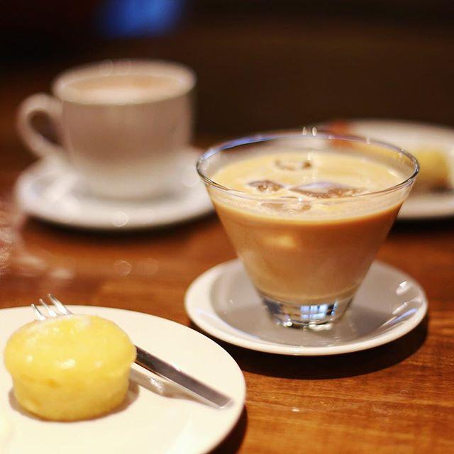S-5104でホワイトシェケラート&レモンケーキ休憩。うまい!#オニマガ名古屋散歩-#s5104 #栄カフェ #シェケラート #nagoyacafe #cafenagoya #名古屋カフェ #レモンケーキ (Instagram)