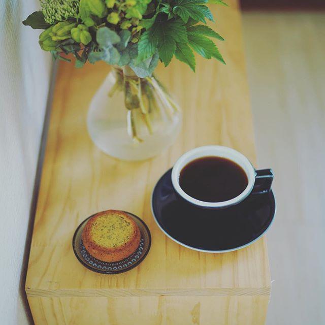 THE BAUMのチーズインザバウムでグッドモーニングコーヒー。お土産でもらったー。うまい! (Instagram)