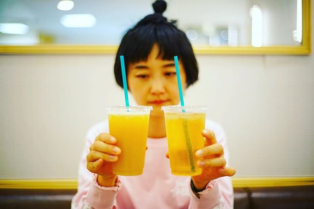 名古屋三越のOSUYA GINZAの酢Cafeで酢ソーダ休憩。うまい!ー#オニマガ名古屋散歩 (Instagram)