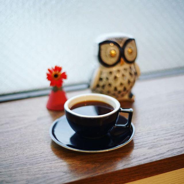 グッドモーニングコーヒー。雨の火曜日。うまい! (Instagram)