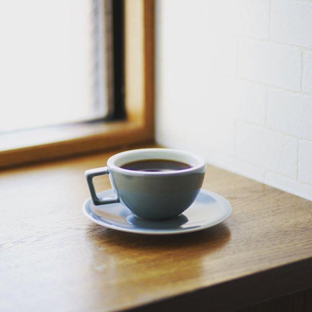 グッドモーニングコーヒー。雨上がりの涼しい月曜日。うまい! (Instagram)