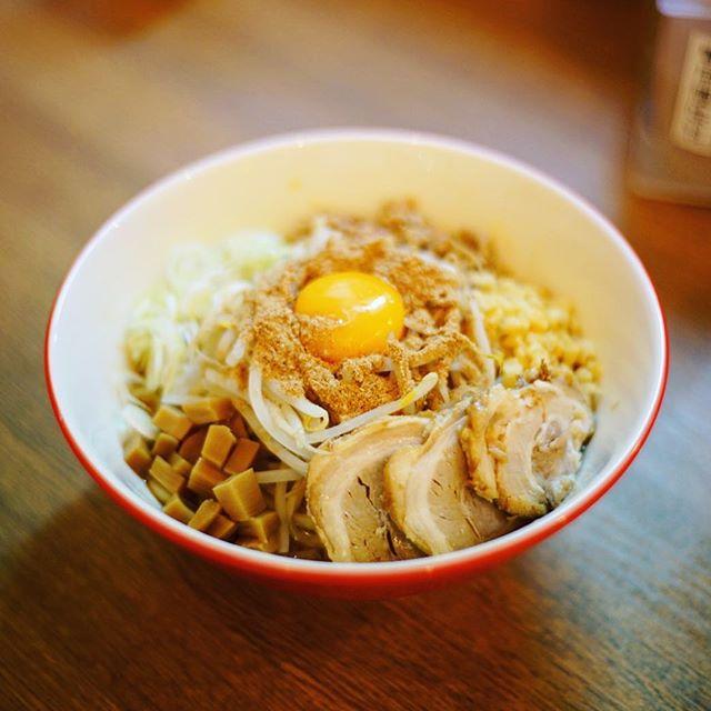 大須にできたラーメン屋さん一刻千金にまぜそば食べに来たよ。うまい!#オニマガ名古屋散歩 #オニマガ大須散歩 (Instagram)